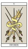 The Five of Swords