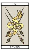 The Four of Swords