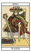 The King of Wands