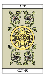 The Ace of Pentacles (Coins)