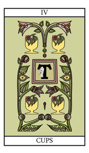 four of cups meaning