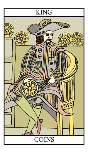The King of Pentacles (Coins)
