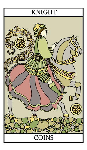 The Knight of Pentacles (Coins)