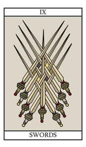 The Nine of Swords