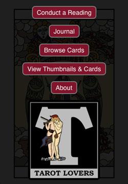 Free Tarot Card Reader on Tarot-Lovers com - the A to Z of Tarot