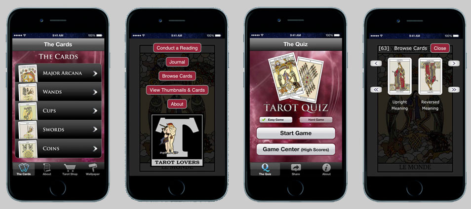 Tarot Card Apps