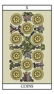 The Ten of Pentacles (Coins)