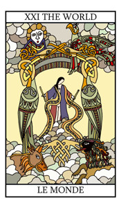 The World Tarot Card Meaning In Detail On Tarot Lovers Com